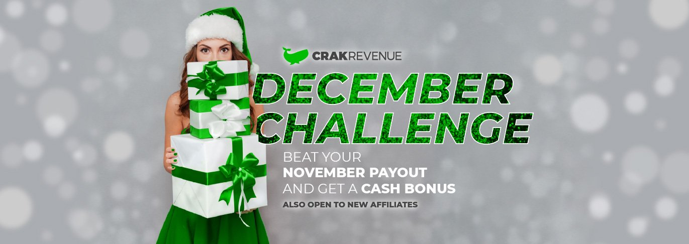 CrakRevenue's Cash Bonus Challenge is Back
