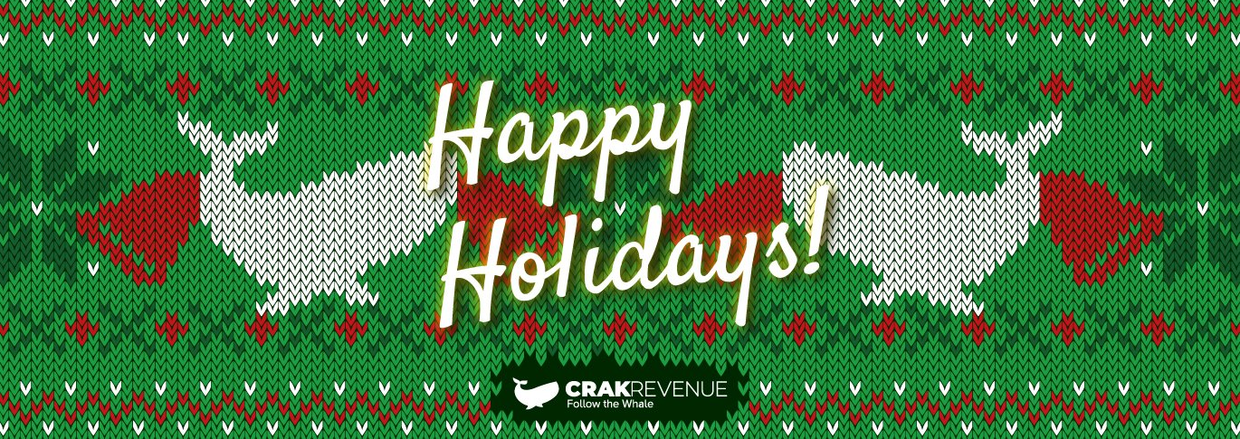 Crakrevenue wishes you happy holidays!